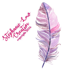 purple-watercolor-feather