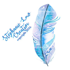 blue-watercolor-feather