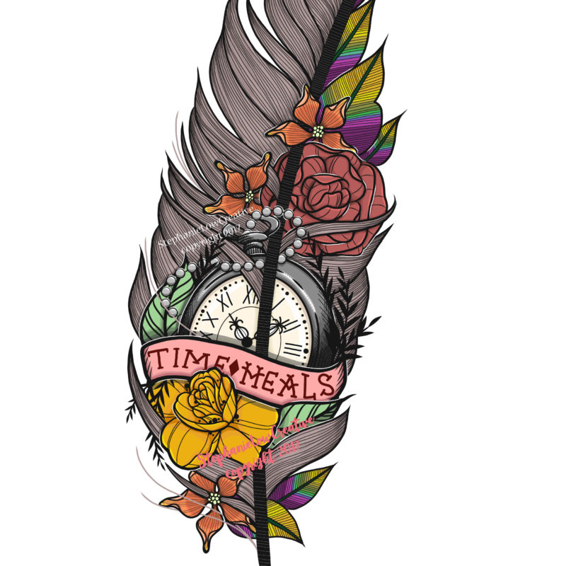 Time Heals Feather